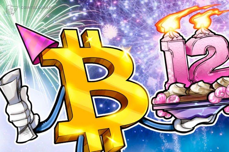 Bitcoin Birthday - January 3, 2009