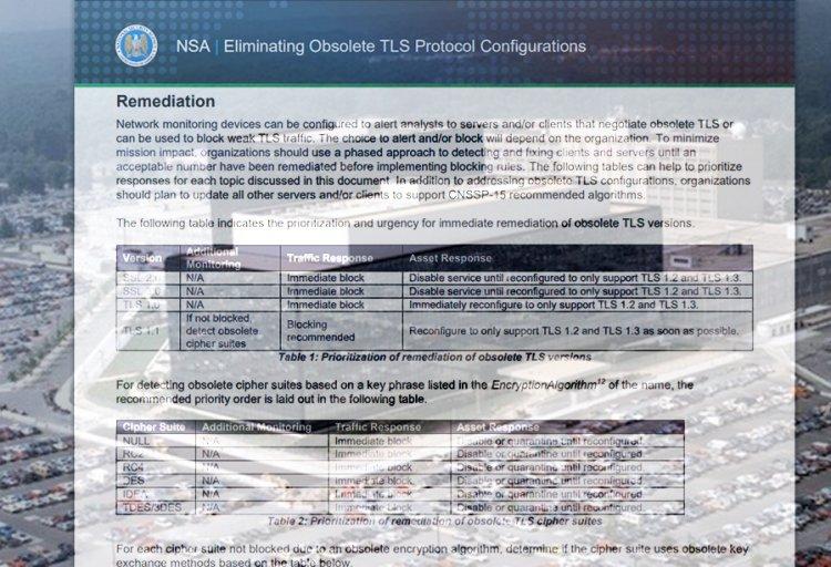 TLS - პროტოკოლის განახლება| ეროვნული უსაფრთხოების სააგენტო