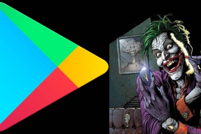 """ვირუსი """"JOKER"""" კიდევ ერთხელ Google Play Store– ზე გამოჩნდა"""