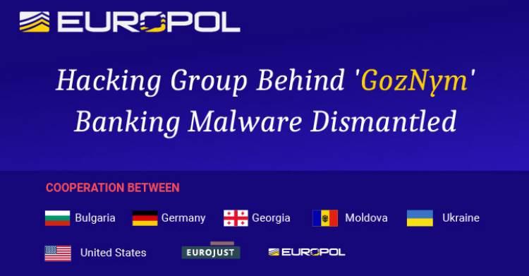 საბანკო ვირუსი GozNym აღმოფხვრეს საერთაშორისო ორგანიზაციებმა